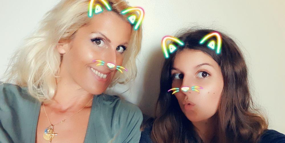 Sophie Vitali et sa fille Chiara Giovinazzo