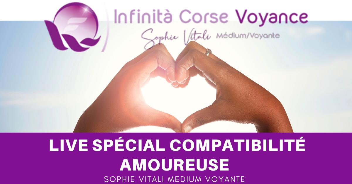 Sophie Vitali / Live voyance spécial compatibilité amoureuse gratuit