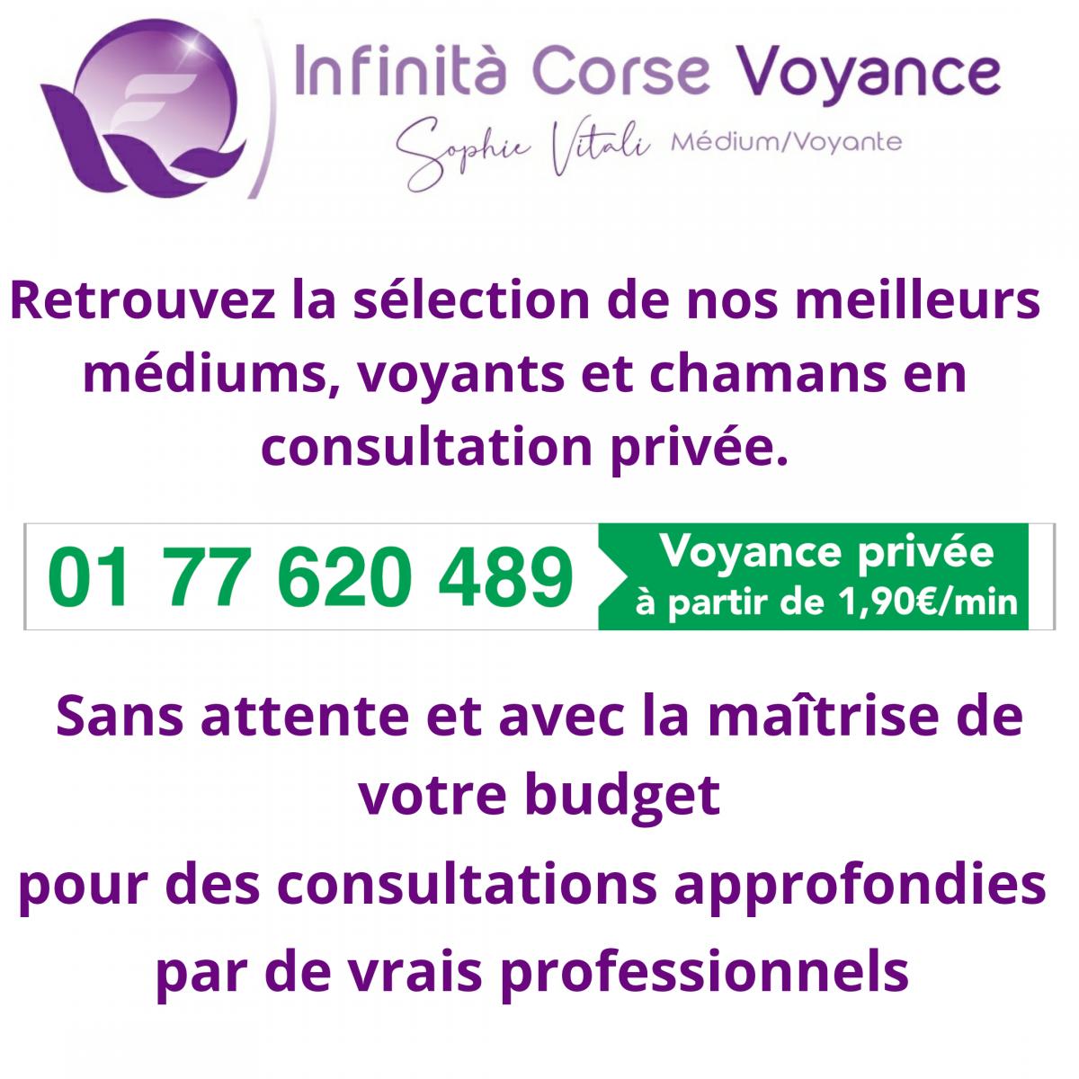 Infinità corse Voyance spécialiste en Corse de la voyance par téléphone