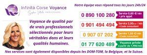 Infinità Corse Voyance est accessible depuis la France, la Belgique et la Suisse.