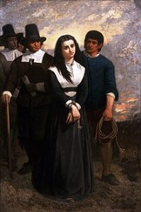 Witch Hill ou Le Martyr de Salem (The Salem Martyr ; New York Historical Society), par Thomas Satterwhite Noble.