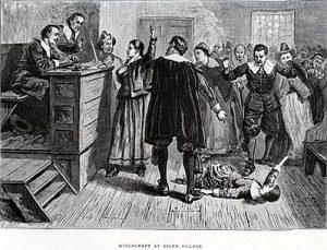 La salle d'audience, illustration de 1876.