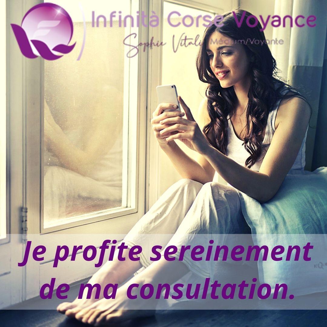 Consultation privée 2 / Infinità Corse Voyance