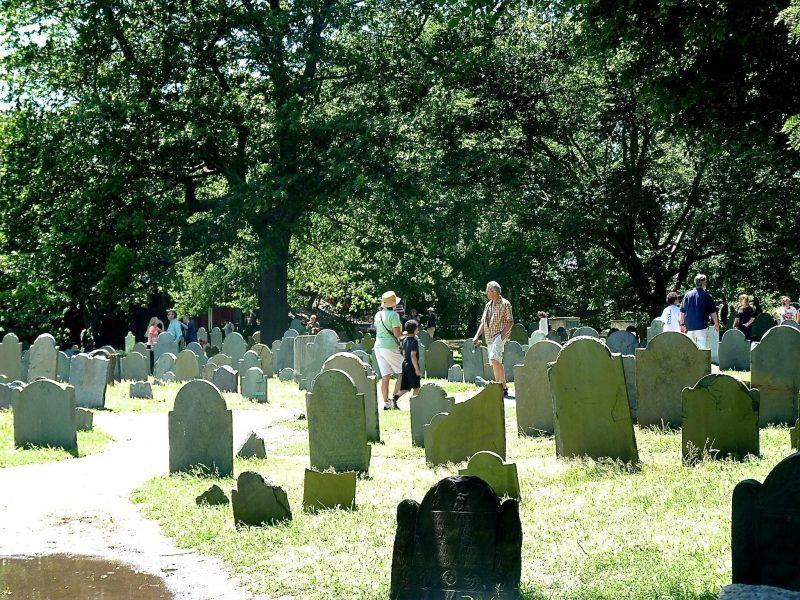 Cimetière des sorcières de Salem