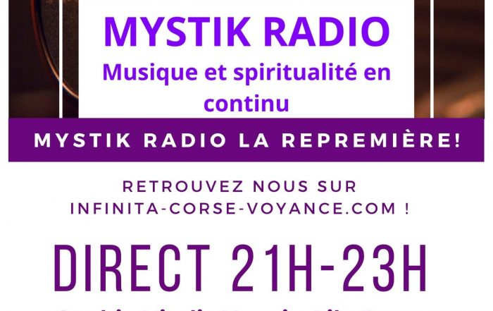 Mystik Radio La repremière!