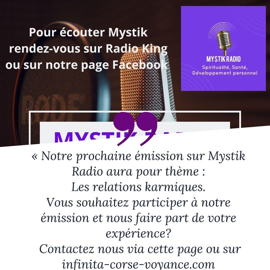Mystik radio: les relations karmiques
