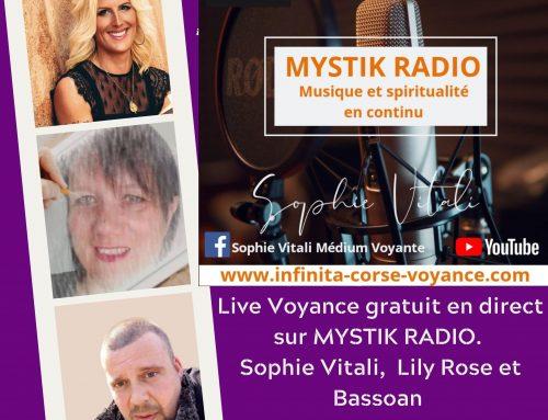 Live Voyance Gratuit en direct sur Mystik Radio le 16/09/2020