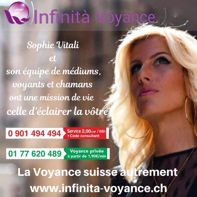 Sophie Vitali / Infinità Voyance Suisse