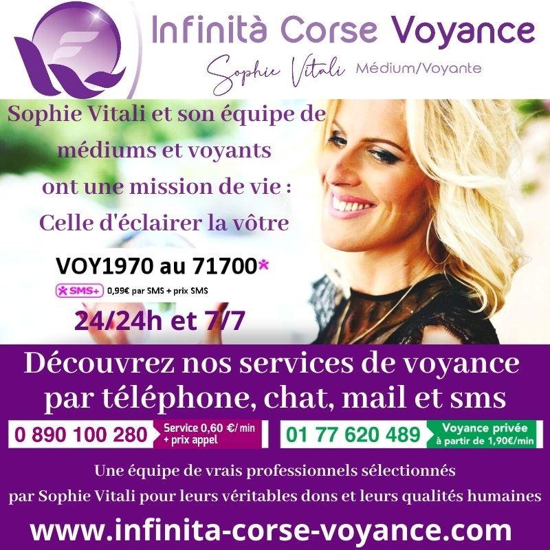 Infinità Corse Voyance spécialiste de la voyance en privé de qualité avec de vrais médiums