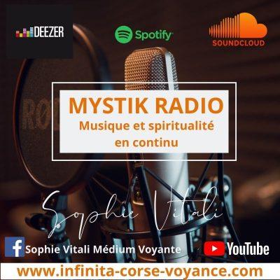 Mystik Radio musique et spiritualité en continu / Infinità Corse Voyance