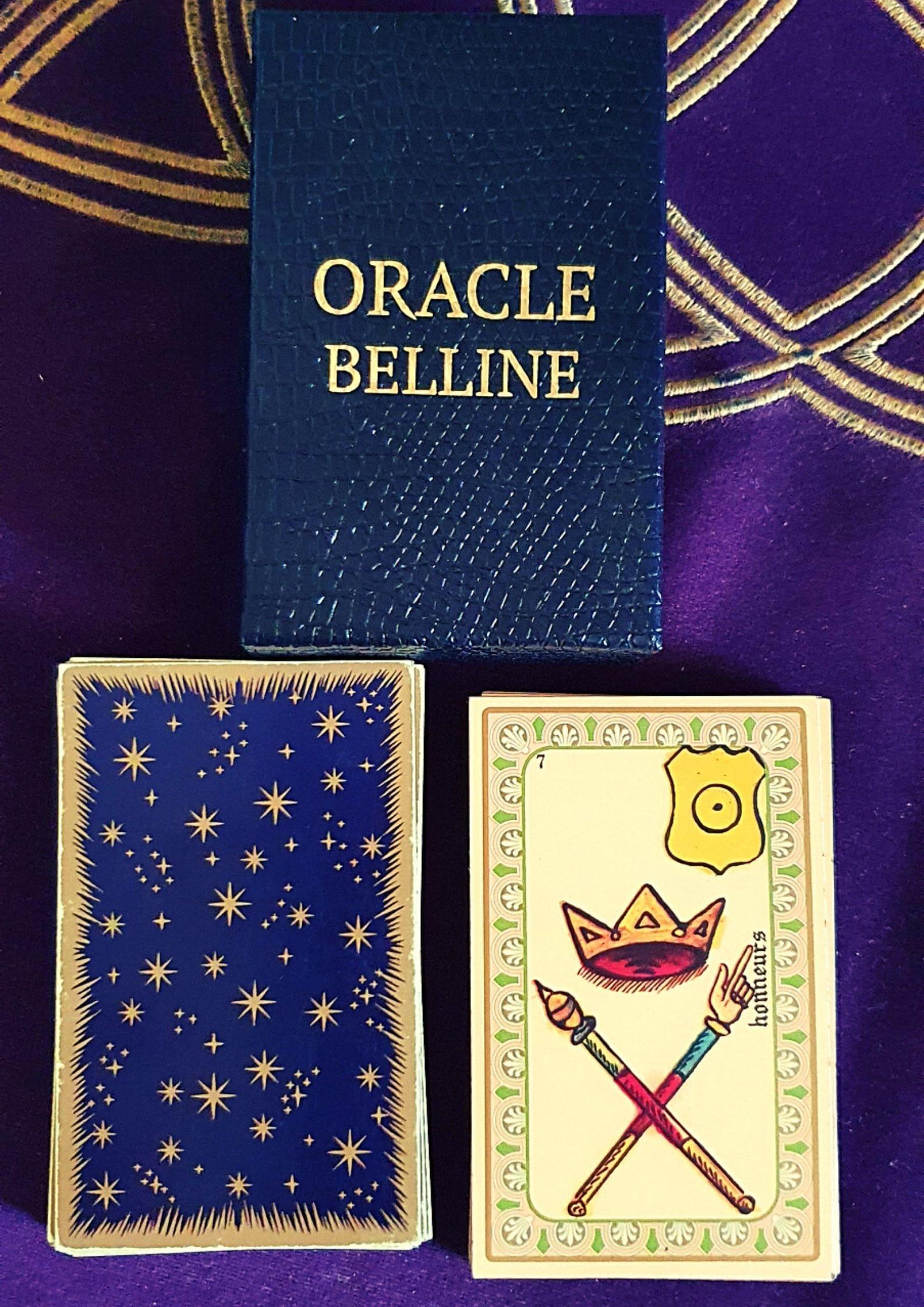 L'Oracle de Belline est l'oracle fétiche de Sophie Vitali