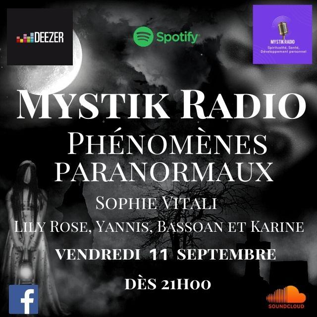 Emission: Les phénomenes paranormaux / Mystik Radio