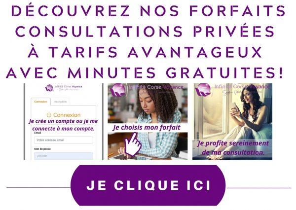 Forfaits consultation privée à prix discount / Infinità Corse Voyance
