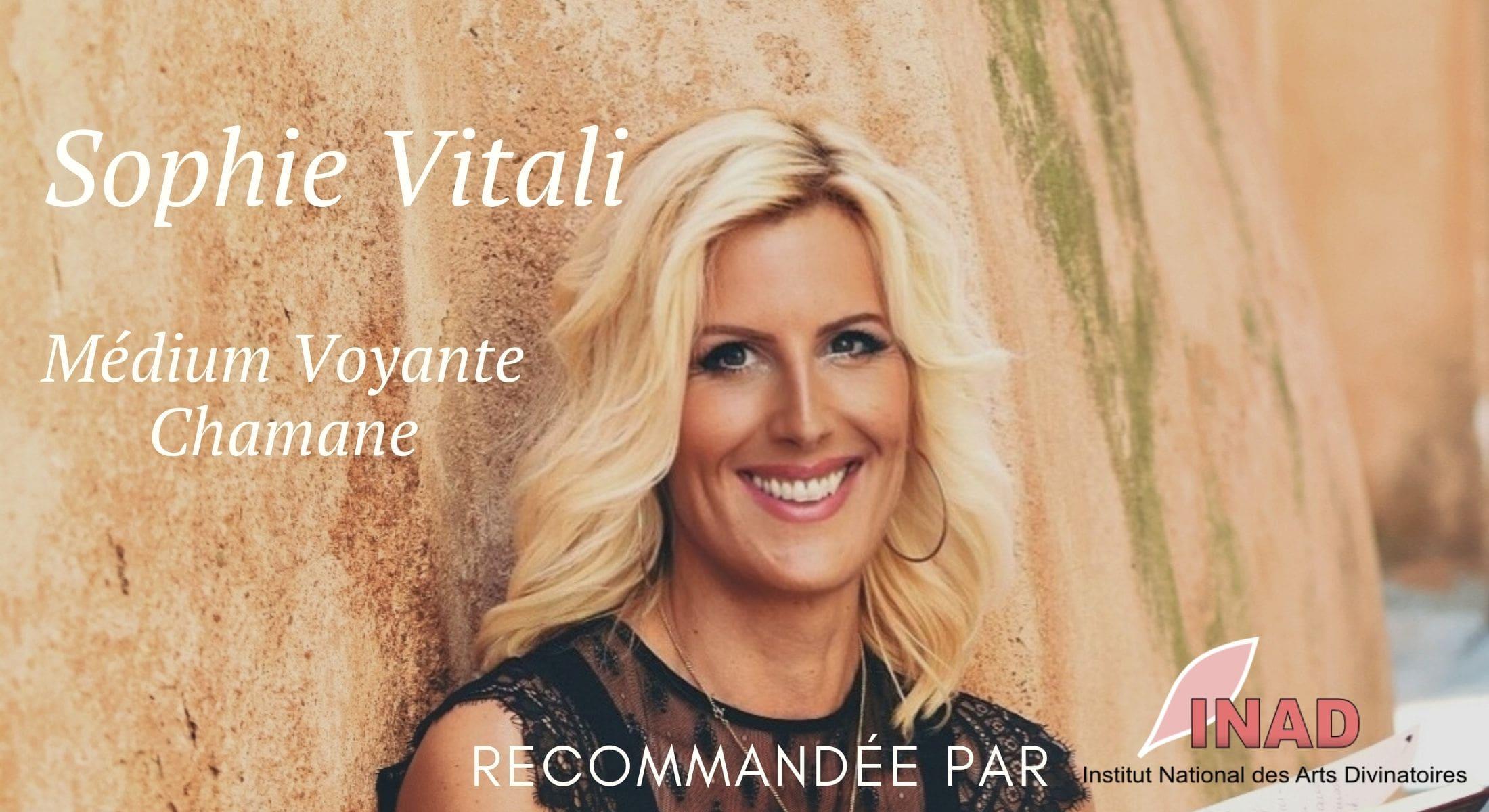 Sophie Vitali membre et voyante reconnue par l'INAD