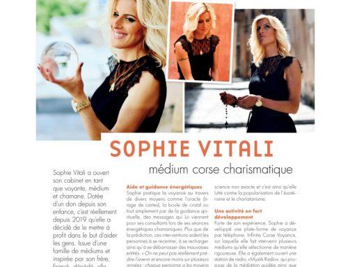 «Sophie Vitali médium corse charismatique.» Magazine Voici