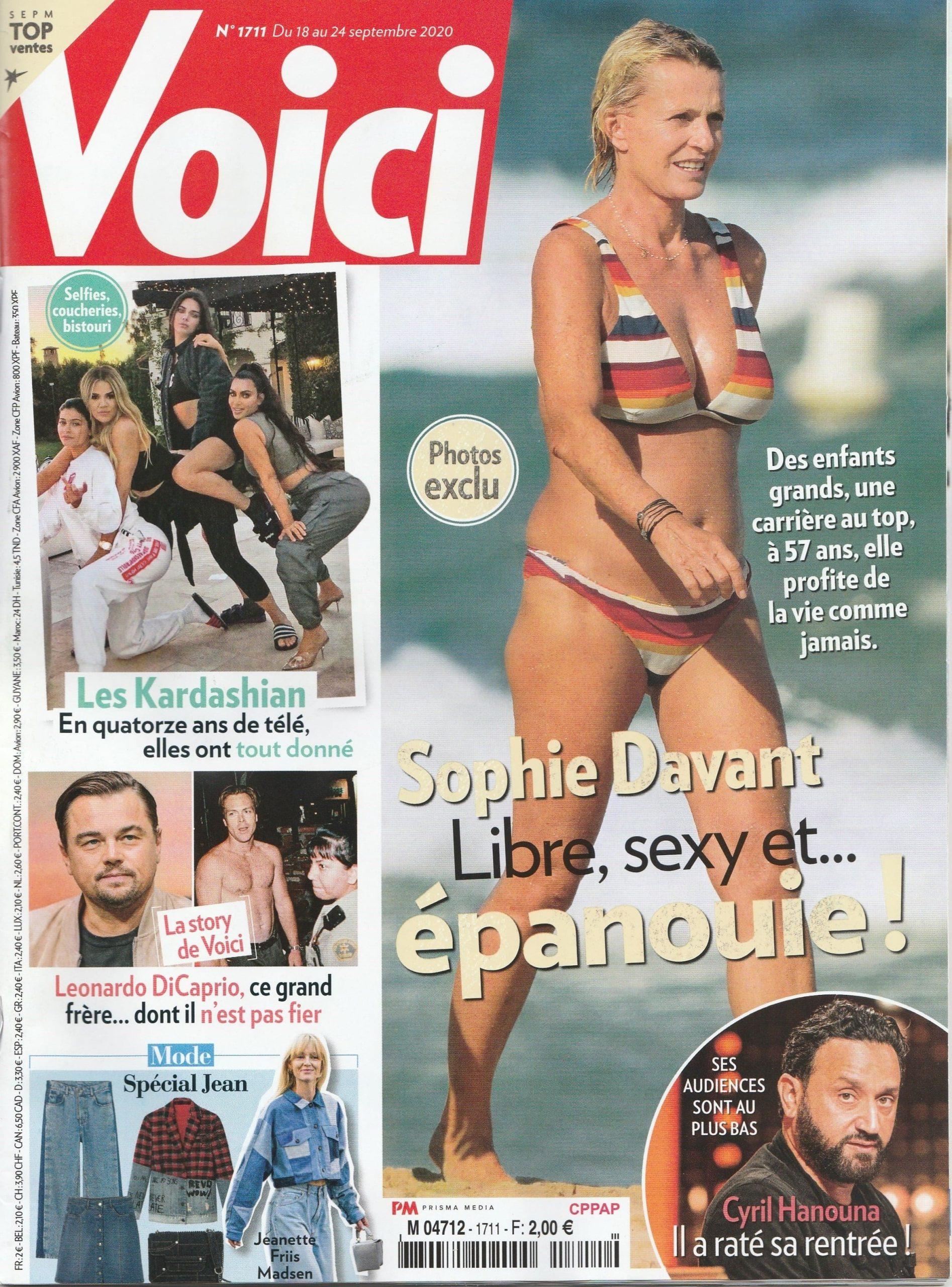 couverture magazine Voici septembre 2020, Sophie Vitali médium corse charismatique