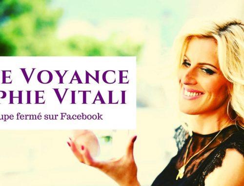 Retrouvez Sophie Vitali en live voyance gratuit sur Facebook