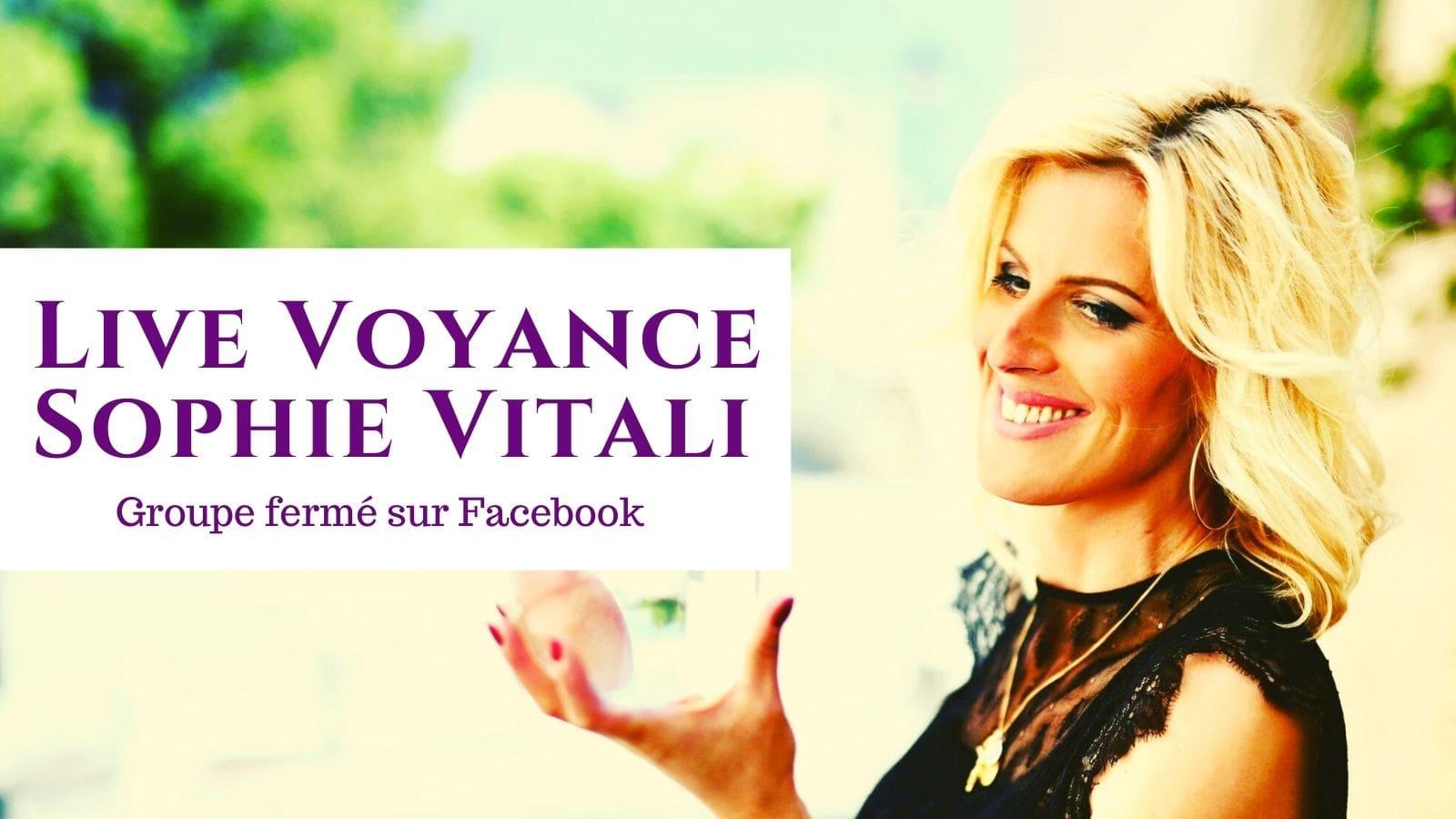 Live voyance gratuit sur Facebook / Sophie Vitali
