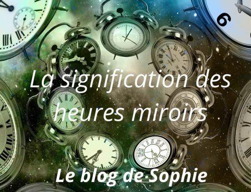 La signification des heures miroirs