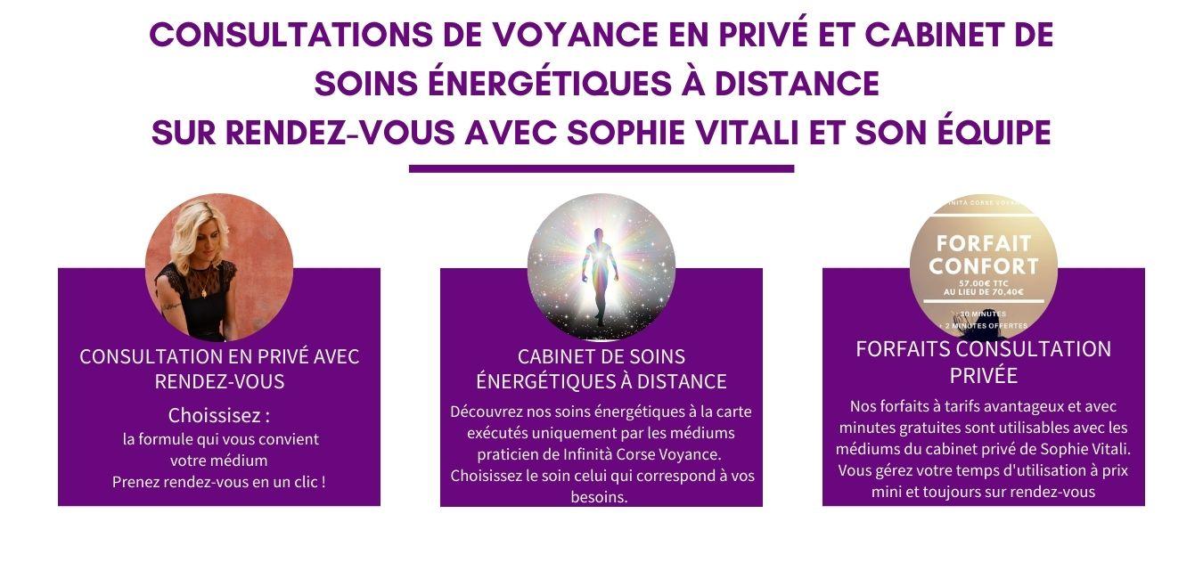 Consultation privée avec rendez-vous : Infinità Corse Voyance
