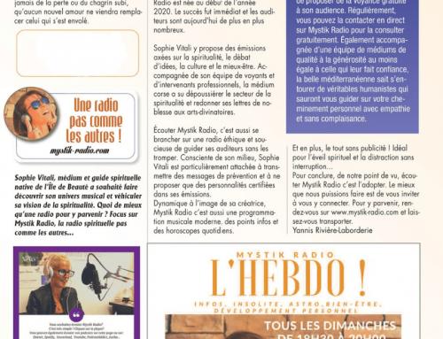 Mystik Radio suscite l'intérêt ! Le magazine Vous et votre avenir en parle !