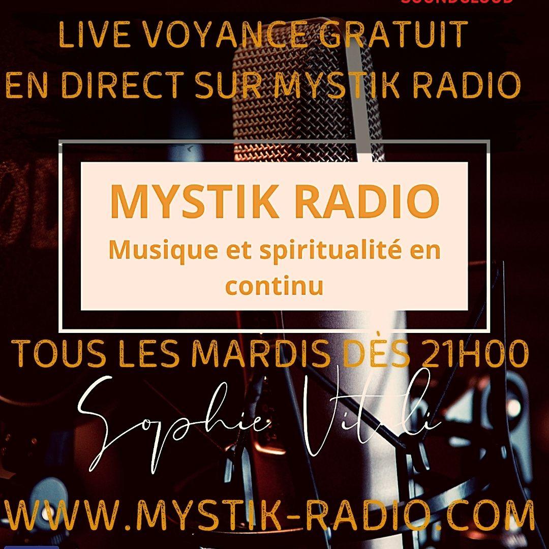 Live voyance gratuit sur Mystik Radio avec les médiums de Infinità Corse Voyance