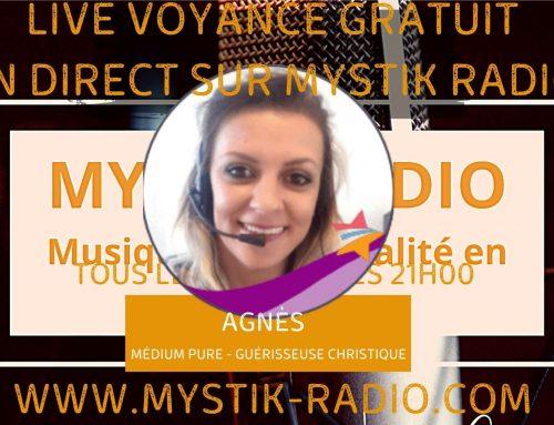 Live voyance gratuit avec Agnès médium pure et guérisseuse christique 08/12/2020