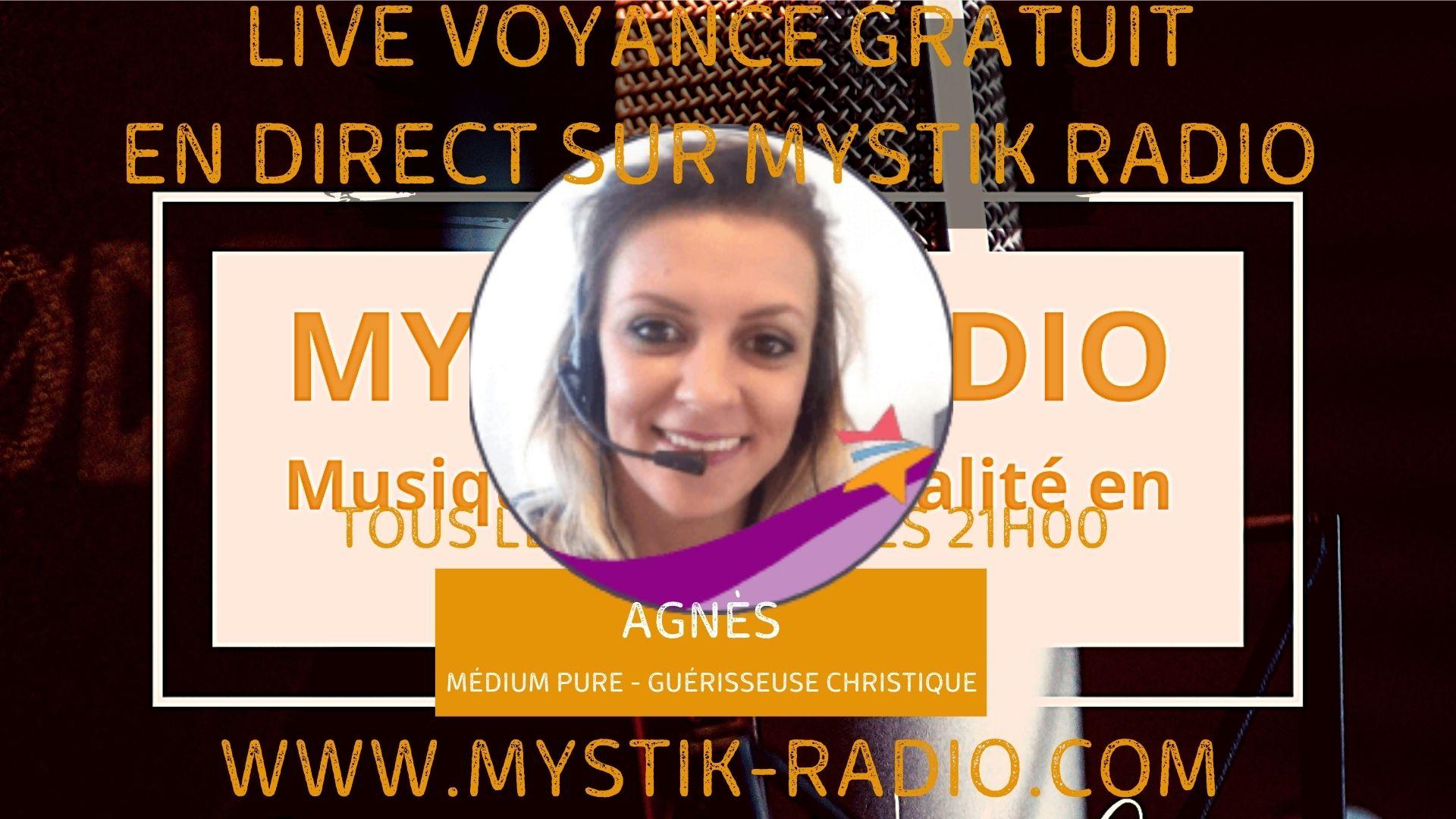 Agnès médium pure et guérisseuse christique en live voyance gratuit / Infinità Corse Voyance