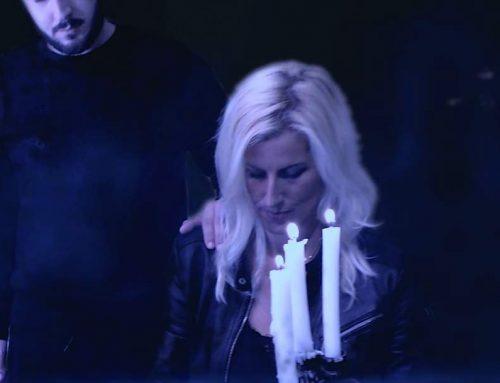Sophie Vitali dans le clip officiel de C.K «Notre amour»