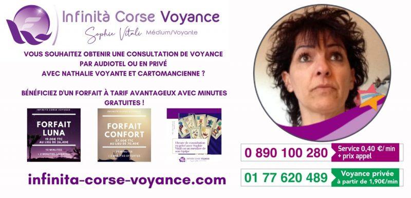 Nathalie médium et cartomancienne / Infinità Corse Voyance