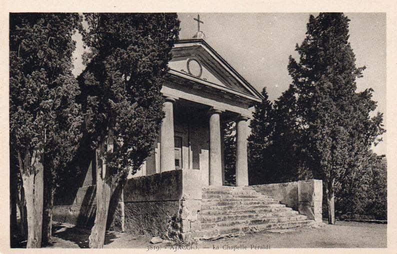 la chapelle Peraldi à Ajaccio : Infinità Corse Voyance