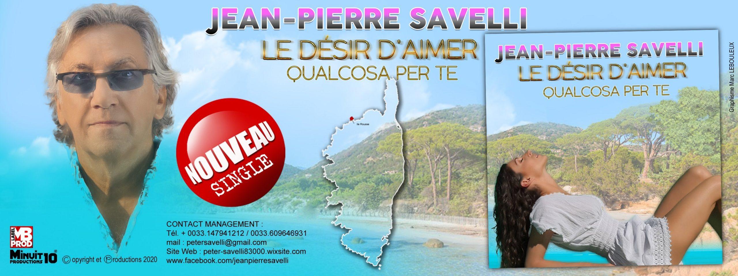 L'envie d'aimer interprété par Jean-Pierre Savelli