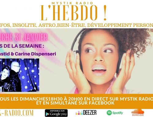 L'HEBDO : l'émission Invités : Maurice Bastid et Carine Dispenseri LABEL MBPROD 31.01.2021