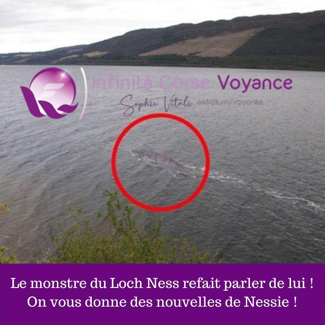Le monstre du Loch Ness refait parler de lui ! On vous donne des nouvelles de Nessie ! / Le blog de Sophie / Infinità Corse Voyance