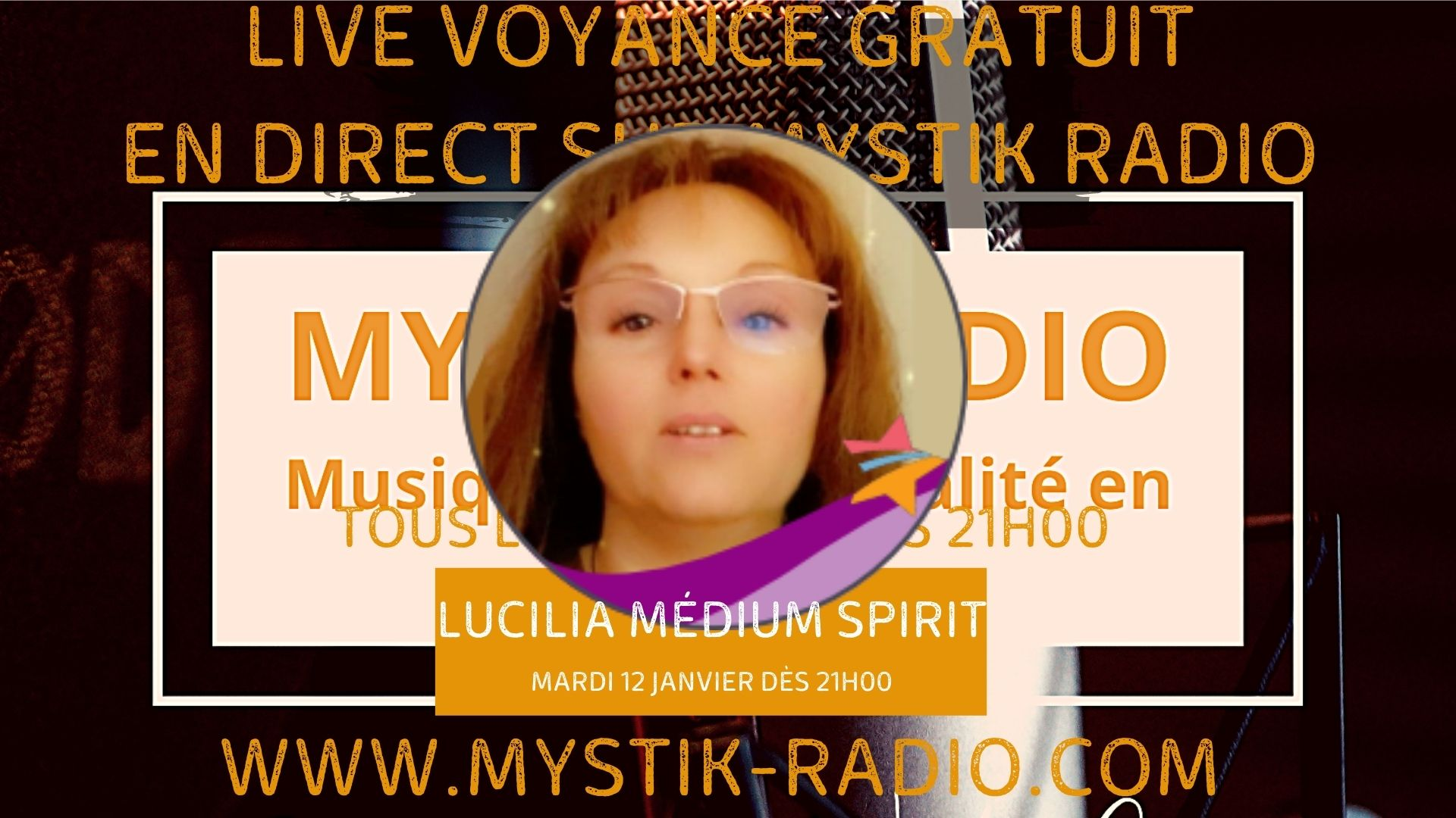 Lucilia médium spirit et magnétiseuse en live voyance gratuit sur Mystik Radio/ Infinità Corse Voyance