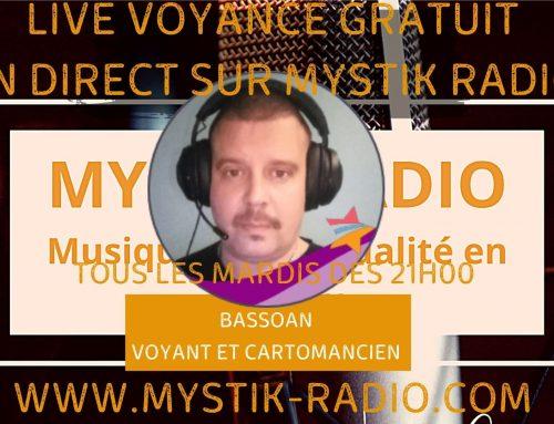 Live voyance gratuit avec Bassoan voyant et cartomancien chez Infinità Corse Voyance  02.02.2021