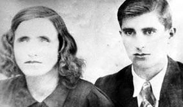 Baba Vanga et son mari dans les années 40
