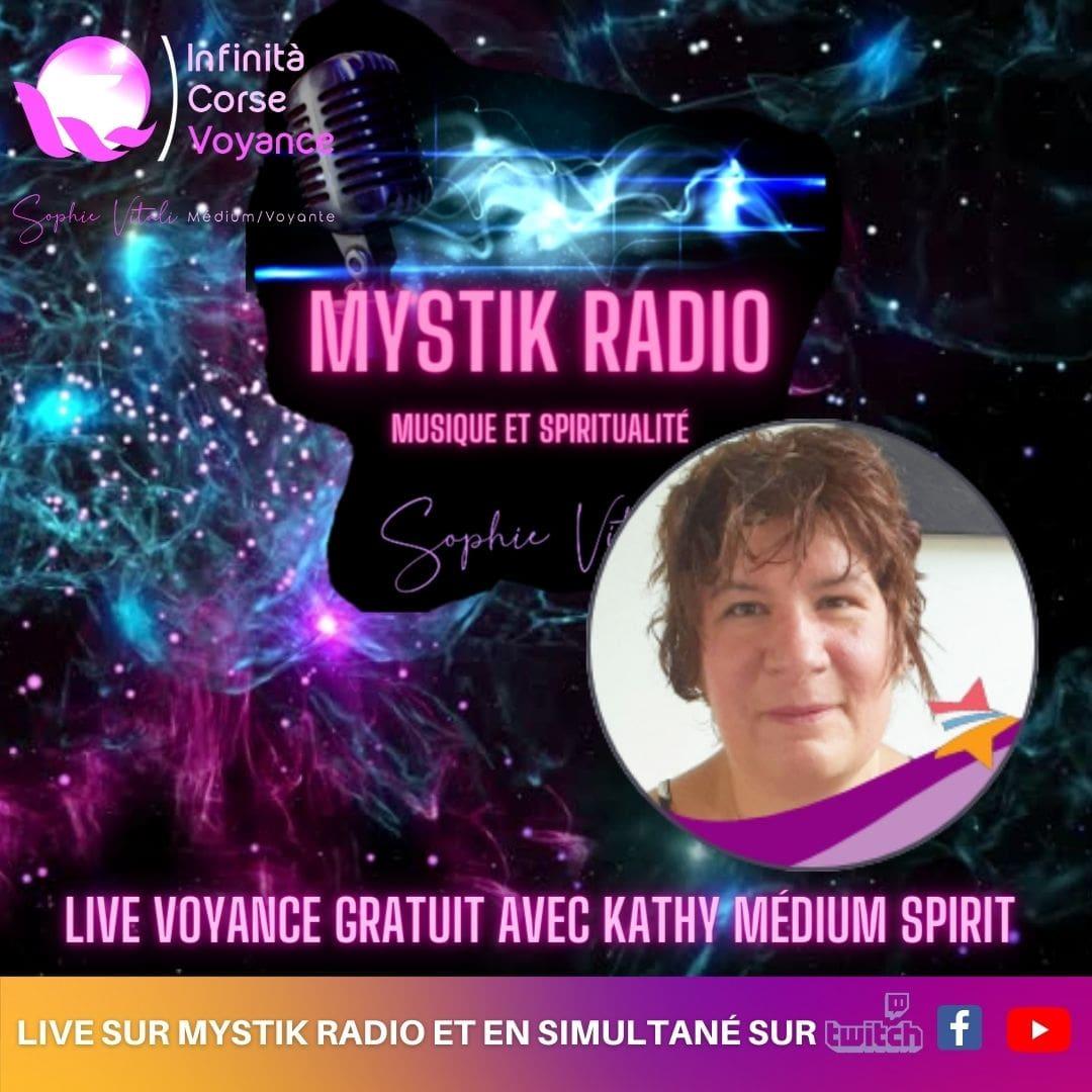 voyance gratuite par téléphone avec Kathy médium spirit / Sophie Vitali