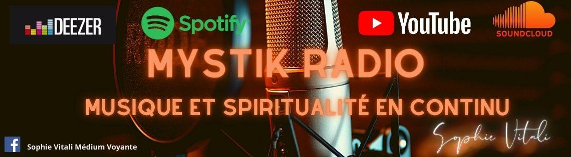 Mystik Radio crée par Sophie Vitali médium et voyante / Infinità Corse Voyance