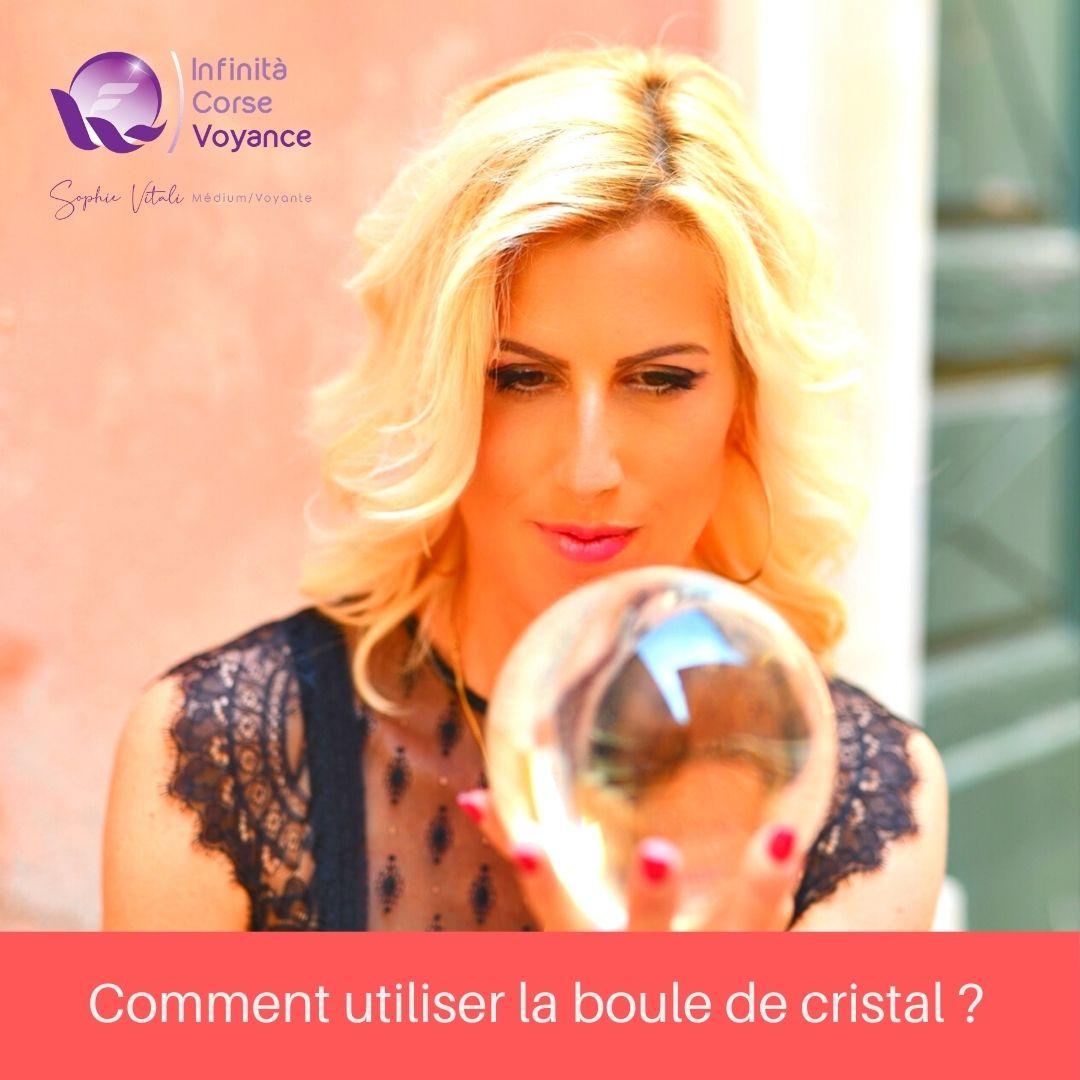 Comment utiliser la boule de cristal ? / Le blog de Sophie