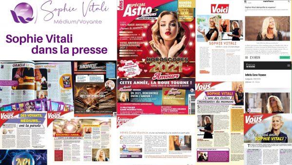 Sophie Vitali médium Voyante dans la presse