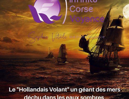 """Le """"Hollandais Volant"""" un géant des mers déchu dans les eaux sombres et mystérieuses de l'océan."""