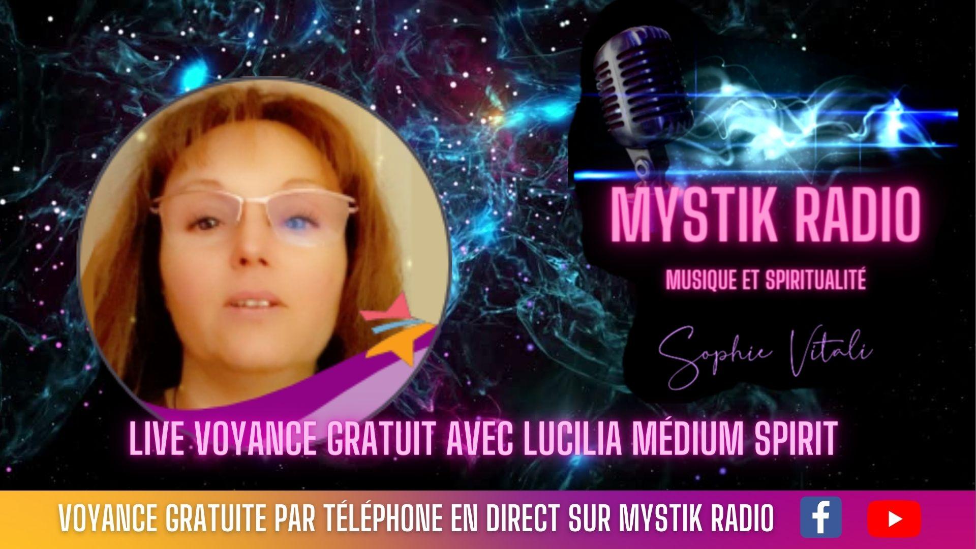 voyance gratuite en direct avec Lucilia médium
