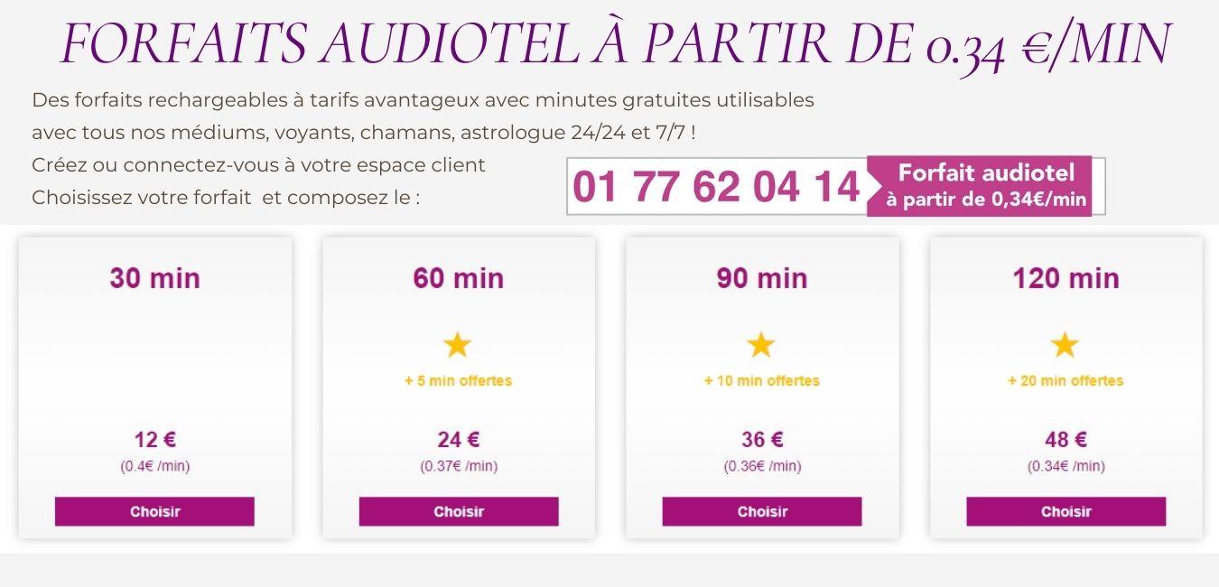 Voyance sans CB à partir de 0.34 €/min