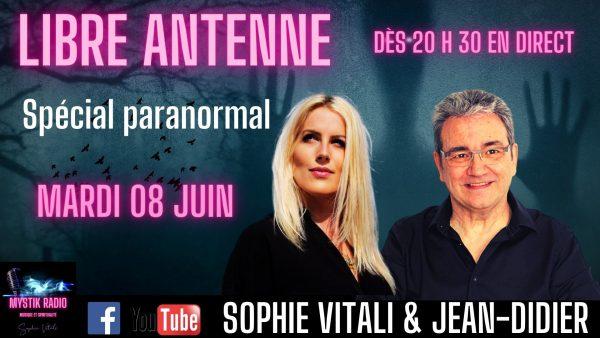 Le libre antenne animé par Sophie Vitali et Jean-Didier