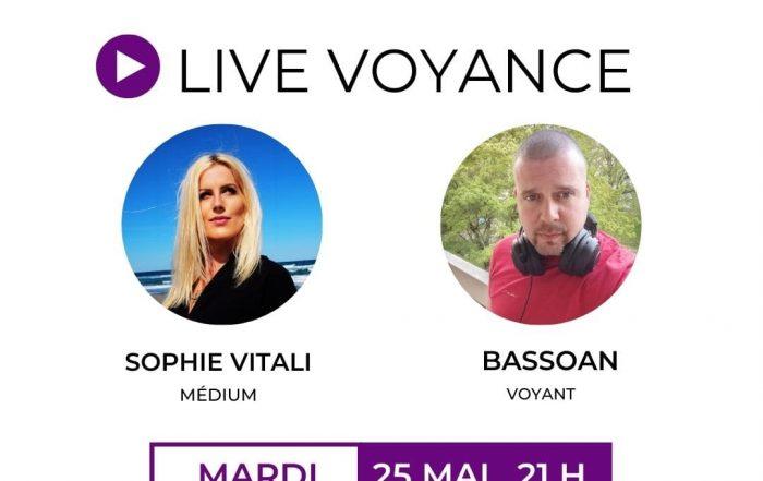 Live voyance gratuite par téléphone avec Sophie Vitali et Bassoan