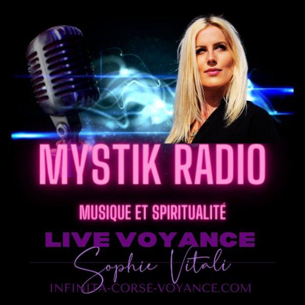 Live voyance gratuite par téléphone avec Sophie Vitali célèbre médium et ses voyants, tarologues, astrologues, cartomanciens sur le site de voyance en ligne Infinità Corse Voyance