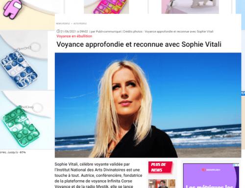 Sophie Vitali médium voyante sur Voici.fr