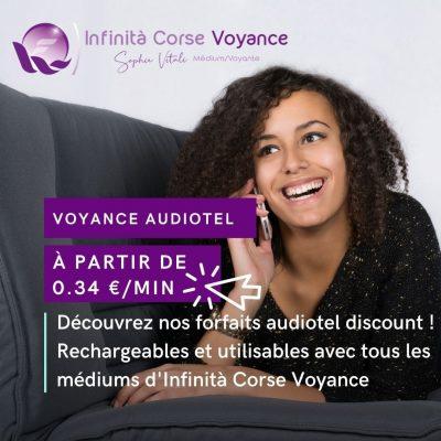 Voyance audiotel discount à partir de 0.34 €/min avec Sophie Vitali célèbre médium et voyante