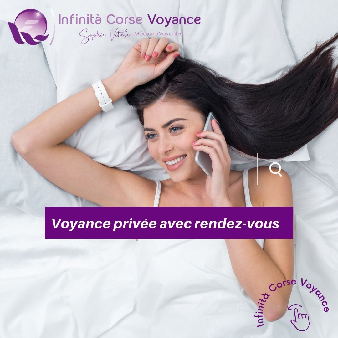 Voyance privée par téléphone sur rendez-vous depuis la Suisse avec Sophie Vitali célèbre médium et voyante